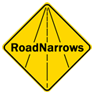Road Narrows Robotics Logo